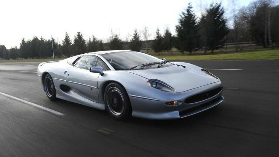 Jaguar XJ220: 217 mph, 0-60 in 3.8 secs.