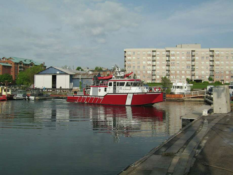 The Firestorm 70 high-performance fireboat Photo: Port Of Houston Authority