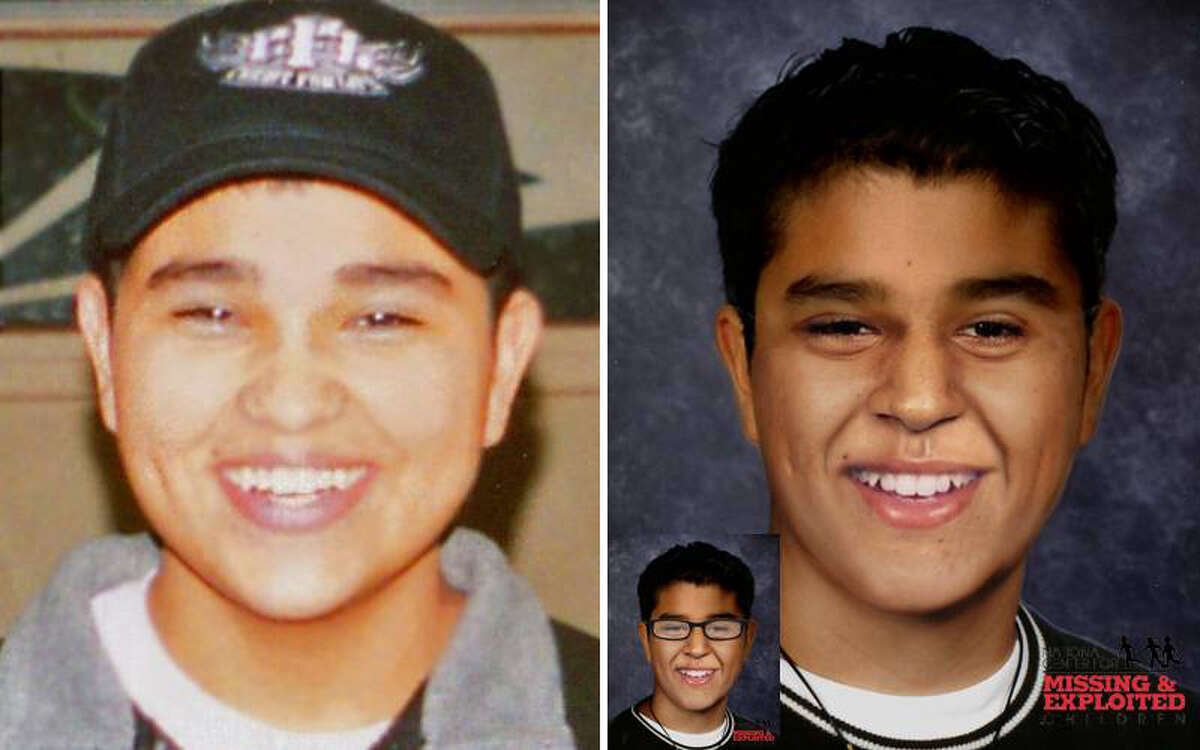 Andrew Mayorga: Born Nov. 27, 1989 Missing Date: Jan. 4, 2007 Missing From: San Antonio Andrew's photo is shown age-progressed to 19 years. He may still be in the local area or he may travel to Washington, California, Florida, or Georgia. Andrew may wear glasses.