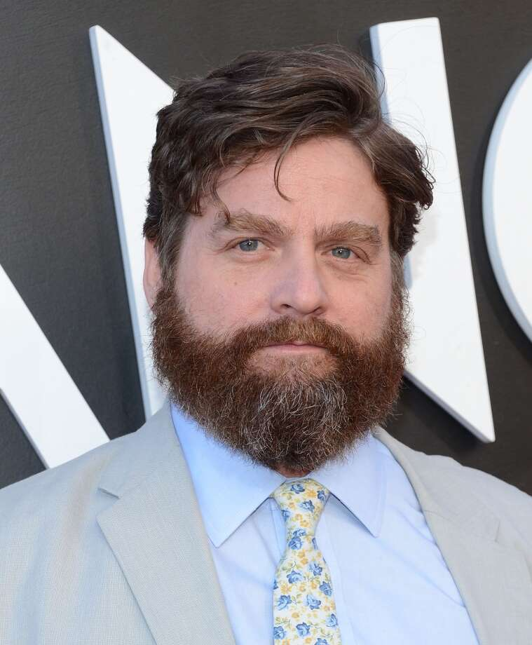 "WESTWOOD, CA - MAY 20:  Actor Zach Galifianakis attends the premiere of Warner Bros. Pictures' ""Hangover Part 3"" on May 20, 2013 in Westwood, California.  (Photo by Jason Kempin/Getty Images)"