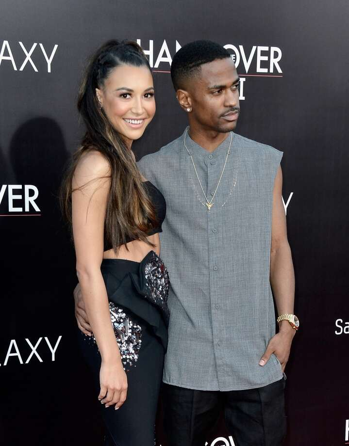 "WESTWOOD, CA - MAY 20:  Actress Naya Rivera and rapper Big Sean attend the premiere of Warner Bros. Pictures' ""Hangover Part 3"" at Westwood Village Theater on May 20, 2013 in Westwood, California.  (Photo by Frazer Harrison/Getty Images)"
