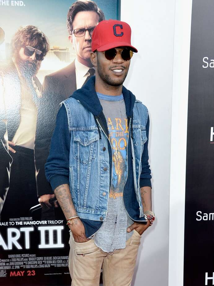 "WESTWOOD, CA - MAY 20:  Rapper Kid Cudi attends the premiere of Warner Bros. Pictures' ""Hangover Part 3"" at Westwood Village Theater on May 20, 2013 in Westwood, California.  (Photo by Frazer Harrison/Getty Images)"