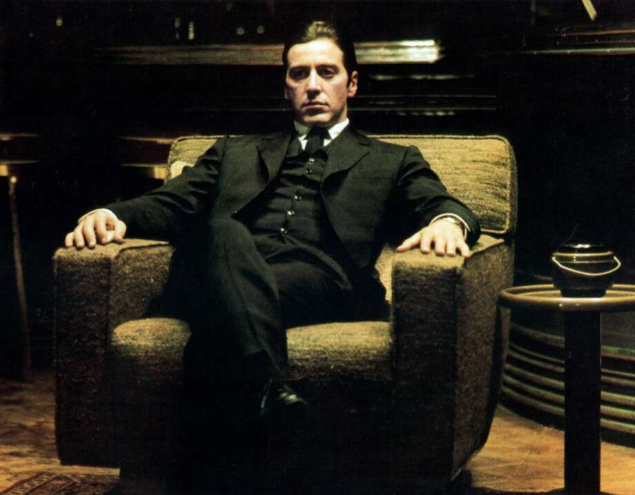 "Al Pacino in a scene from the film ""The Godfather: Part II."""