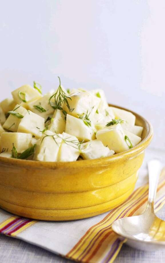 Good Housekeeping recipe for Healthy Potato Salad. Photo: James Baigrie