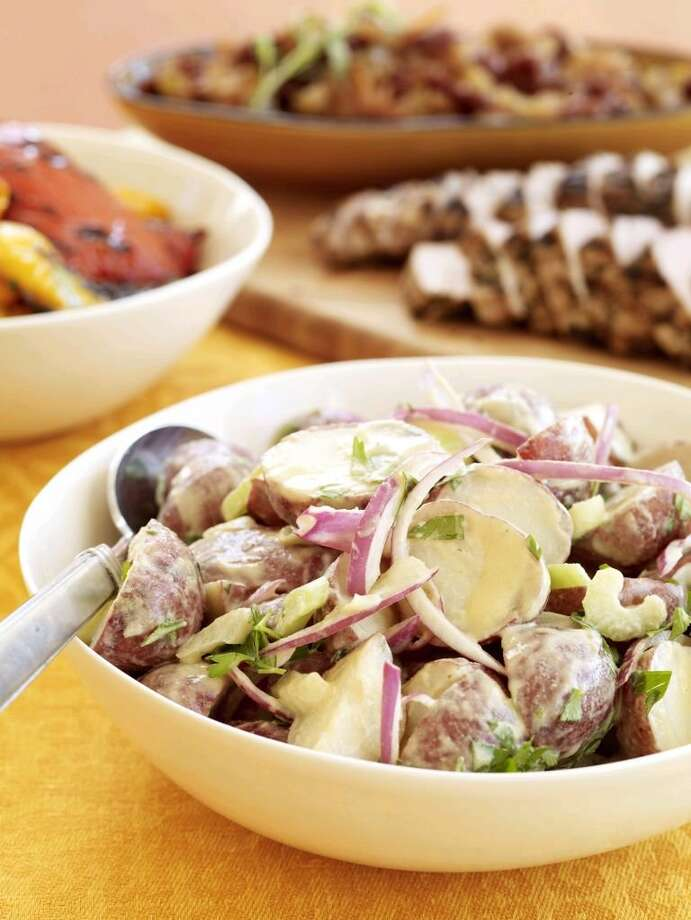 Good Housekeeping recipe for Warm Dijon Potato Salad. Photo: Frances Janisch