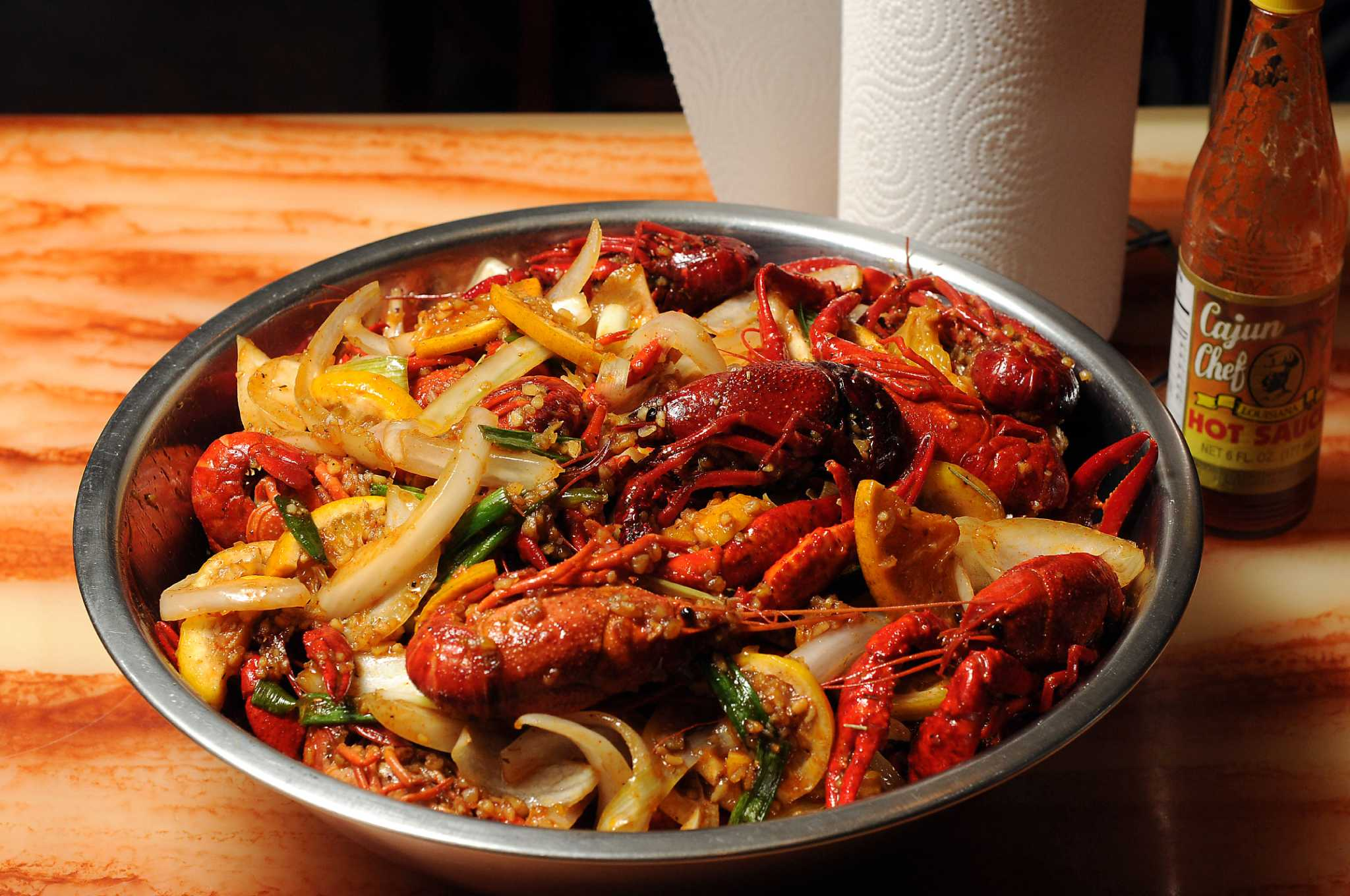 good life boils over with cajun kitchen crawfish houston chronicle
