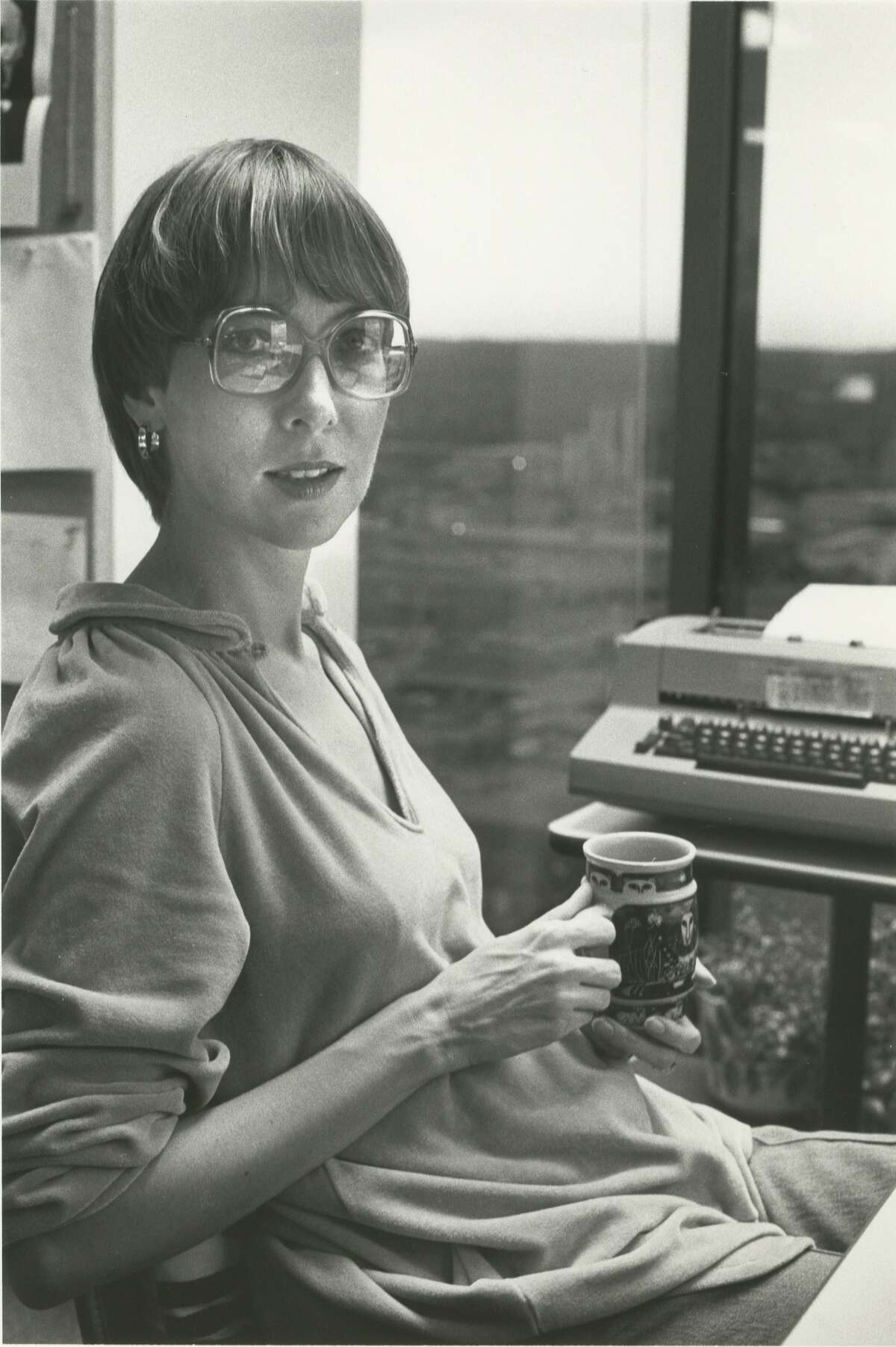 Pat Sharpe, current executive editor, restaurant critic and food writer at Texas Monthly earlier in her career at the magazine.