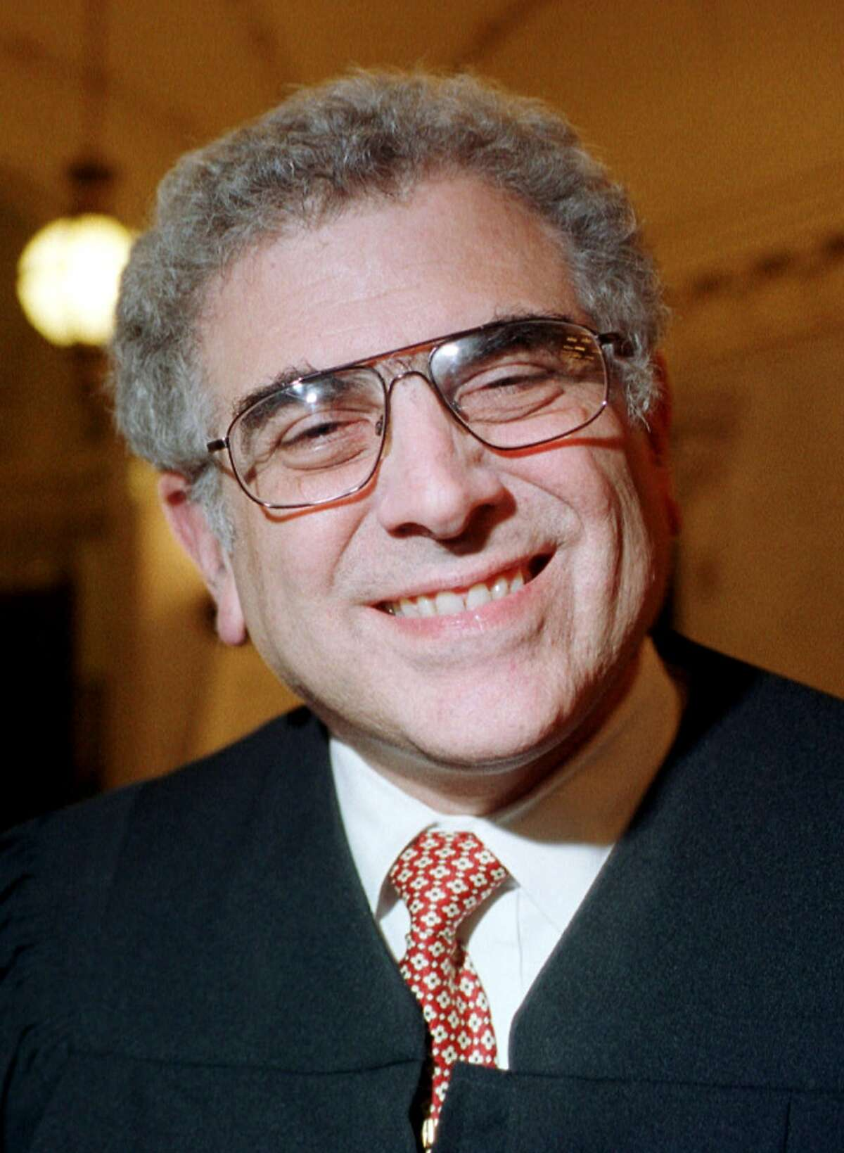 ** FILE ** Judge Andrew J. Kleinfeld of the 9th U.S. Circuit Court of Appeals is shown in a 2000 photo. The judges will hear arguments in the case that postponed the California gubernatorial recall election. (AP Photo/The Recorder, Shelley Eades)