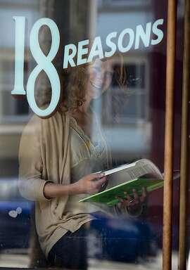 Rosie Branson Gill, the former director of 18 Reasons, a non-profit food organization photographed inside her store on Thursday, May 16, 2013 in San Francisco, Calif.