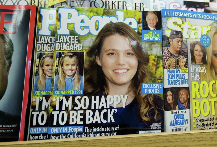 Dugard's reappearance created a media sensation, including magazine covers and an appearance on Oprah. Photo: SAUL LOEB, Getty / 2009 AFP