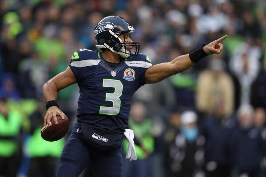 On how different this offseason is for him as the clear starter:''Well, it will be drastically different. The leadership role is already established, and also just the reps. Last year I was splitting a third of the reps all the way through August, pretty much, so I think that will give me a bit of a boost and get me ready for the season.  ''I'm excited about that. We have a great offense with a lot of great players -- with the addition of Percy Harvin, with the guys that we already have, the running backs that we have, the tight ends. And it's going to be a good thing.''  Photo: Kevin Casey, Getty Images / 2012 Getty Images