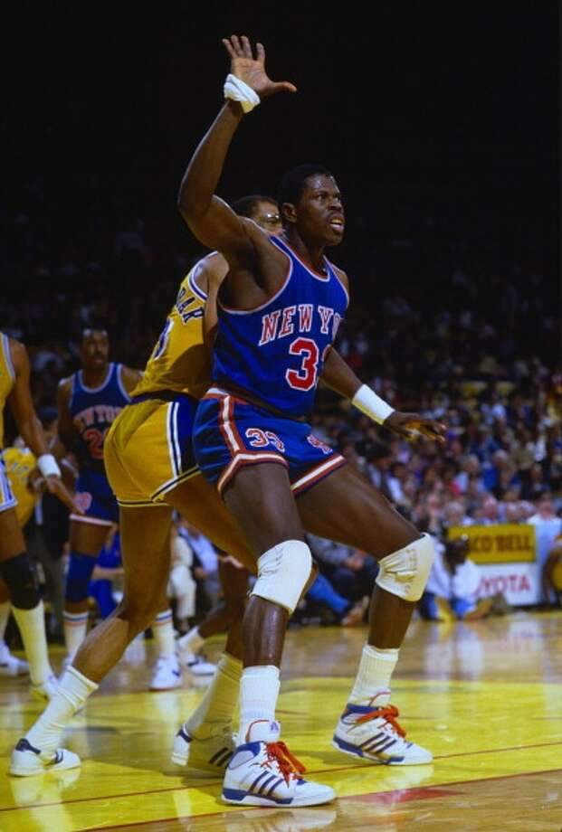 1985: Patrick EwingSchool: GeorgetownPosition: CenterTeam: New York Knicks Photo: Focus On Sport, Getty Images