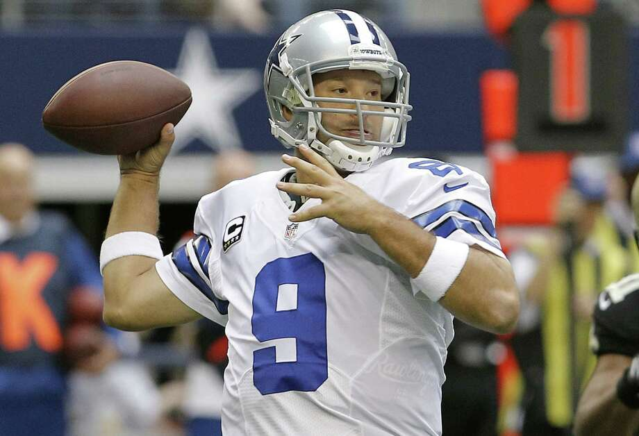 Tony Romo, who recently had a cyst removed from his back, will be more involved in game planning. Photo: Brandon Wade / Associated Press