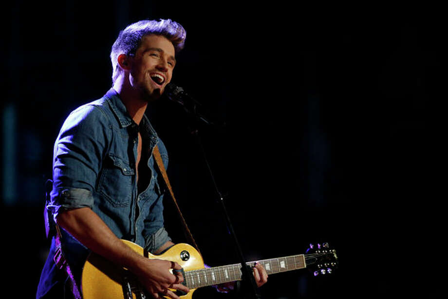 "THE VOICE -- Episode 415A ""Live Show"" -- Pictured: Josiah Hawley -- Photo: NBC, Trae Patton/NBC / 2013 NBCUniversal Media, LLC"