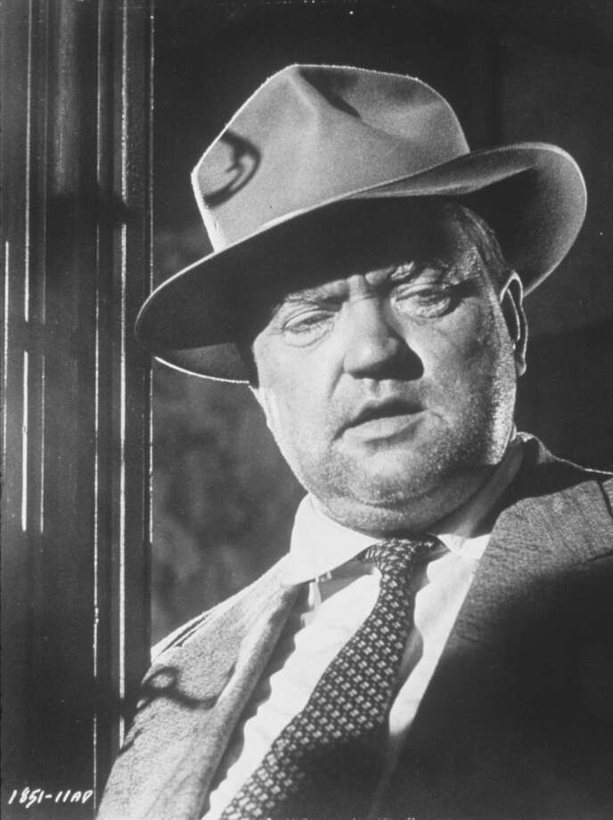 "Orson Welles  in ""Touch Of Evil."""
