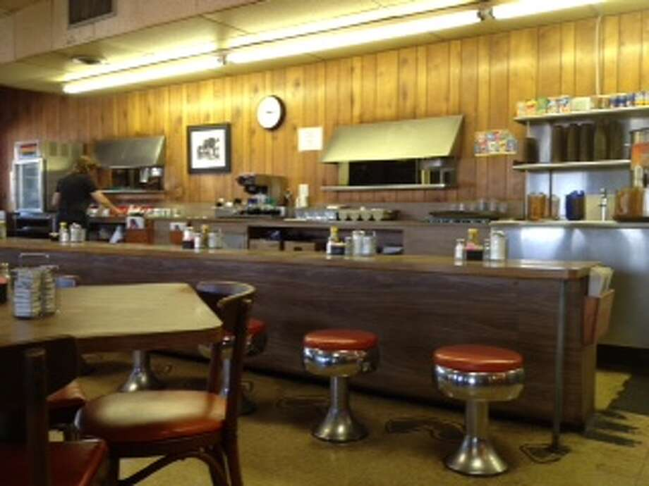The counter at Triple A Restaurant, 2526 Airline. (Mary Ellen Allen photo)