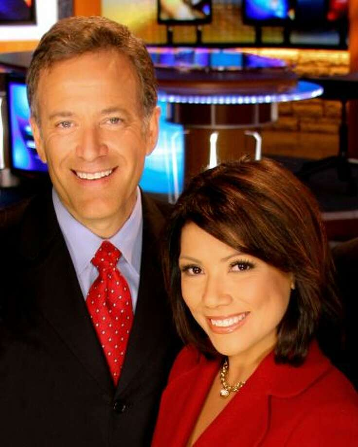 Chief WOAI anchor team: Elsa Ramon and Randy Beamer