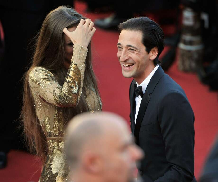 CANNES, FRANCE - MAY 21:  Adrien Brody and Lara Lieto attend the 'Cleopatra' premiere during The 66th Annual Cannes Film Festival at The 60th Anniversary Theatre on May 21, 2013 in Cannes, France.  (Photo by Gareth Cattermole/Getty Images)