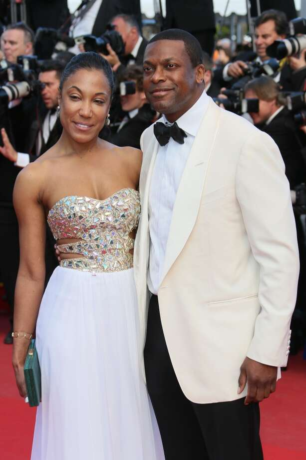 CANNES, FRANCE - MAY 21:  Chris Tucker and Azja Pryor attend the Premiere of 'Cleopatra' during the 66th Annual Cannes Film Festival at the Palais des Festivals on May 21, 2013 in Cannes, France.  (Photo by Tony Barson/FilmMagic)