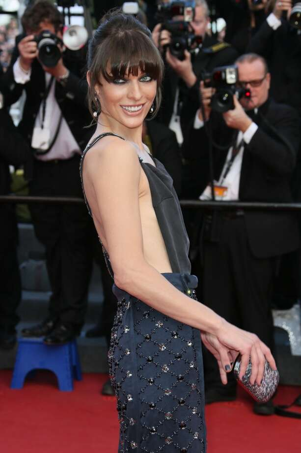CANNES, FRANCE - MAY 21:  Milla Jovovich attends the Premiere of 'Cleopatra' during the 66th Annual Cannes Film Festival at the Palais des Festivals on May 21, 2013 in Cannes, France.  (Photo by Tony Barson/FilmMagic)