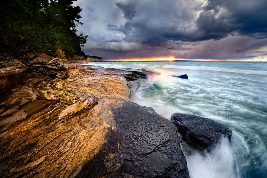 Honorable Mention, Scenic: Steve Perry, Pictured Rocks National Lakeshore (NPS)