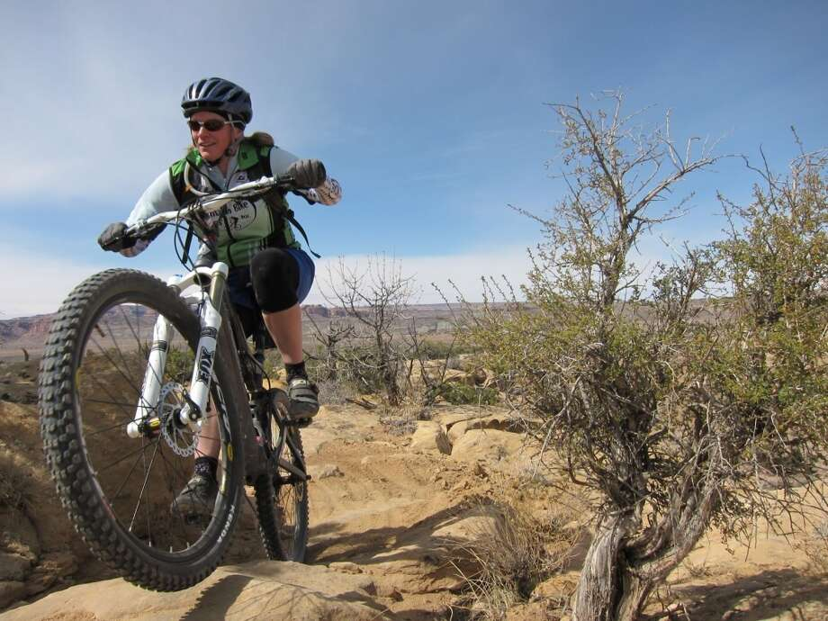 Honorable Mention, Adventure: John Odle, Sovereign Trail in Moab, Utah (BLM)