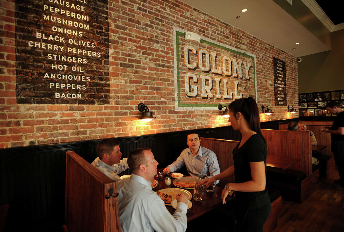 The Colony Grill's newest location is open for business on the site of the old Harrison's Hardware at 36 Broad Street on the Green in downtown Milford, Conn. on Wednesday, May 22, 2013.