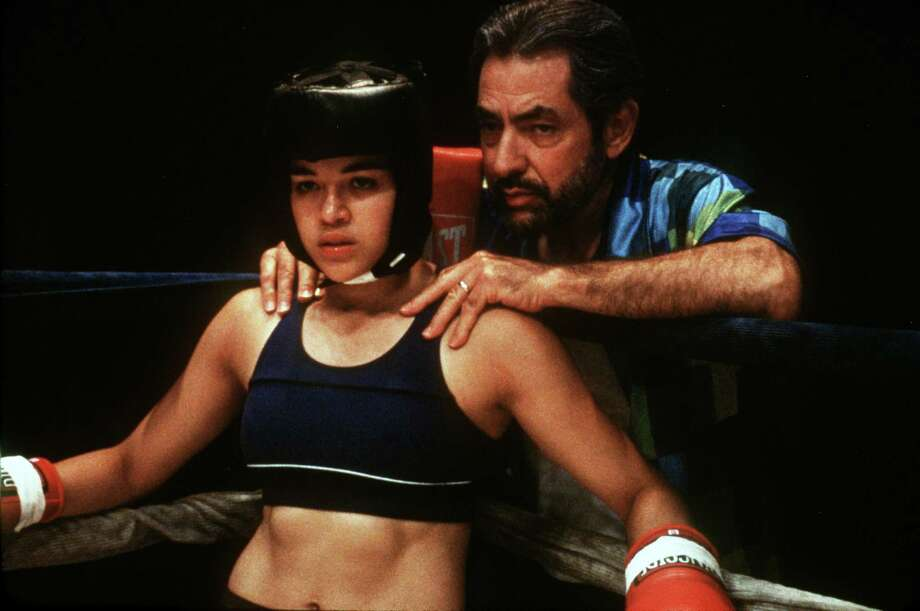 'Girlfight'- First-time director Karyn Kusama's powerful film tells the story of Diana (Michelle Rodriguez), a Brooklyn high-schooler who gets little support from her dismissive single father and takes her frustrations out on her classmates. But when she wanders into a local boxing gym, she's instantly drawn to the action. And though it's a male-dominated world, boxing provides her a newfound discipline and sense of purpose, as well as a positive male role model. Available Sept. 1 Photo: James Bridges / Handout slide