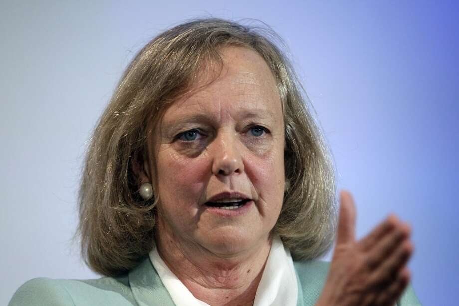 Hewlett Packard CEO and President Meg Whitman