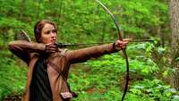 Would Katniss Everdeen have what it takes to hunt zombies? - Photo