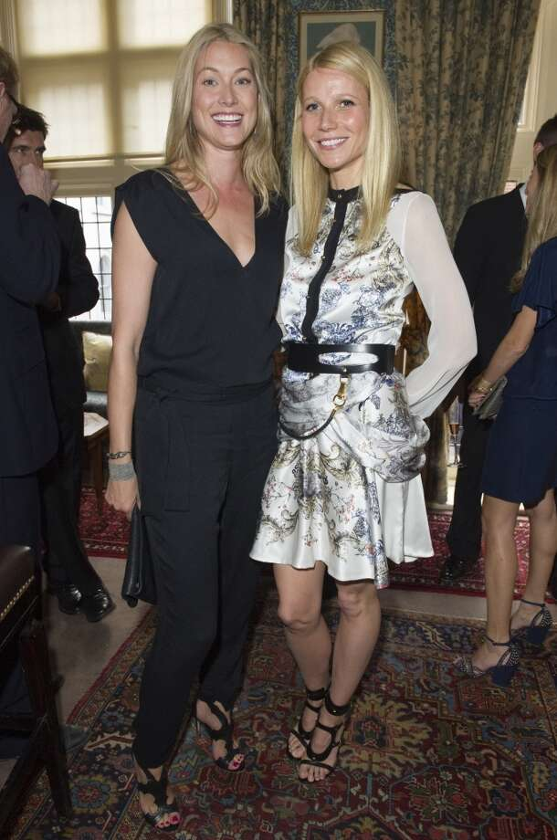 LONDON - MAY 21:  Heidi Wichlinski and Gwyneth Paltrowpose at Goop's party to launch the summer season,  at Mark's Club on May 21, 2013 in London, England.  (Photo by David M. Benett/Getty Images)