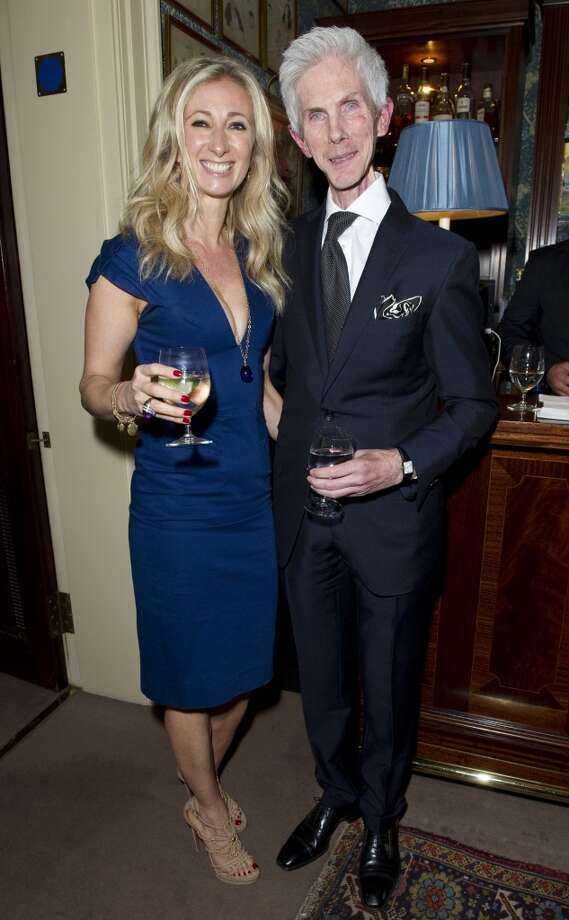 LONDON - MAY 21:  Jenny Halpern and Richard Buckley pose at Goop's party to launch the summer season,  at Mark's Club on May 21, 2013 in London, England.  (Photo by David M. Benett/Getty Images)