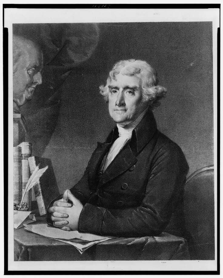 When you talk scandals, perhaps nobody rebounded better than President Thomas Jefferson. Dude had sex and a child with a 17-year-old slave. You might know Jefferson from his spot on Mount Rushmore. Imagine what that scandal would have been like if TMZ were around in the 1800s. Photo: Library Of Congress, Courtesy To The Chronicle