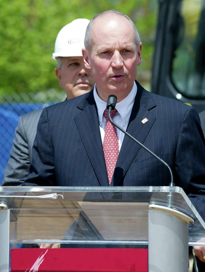 Stamford Hospital President and CEO Brian Grissler Photo: Lindsay Perry / Stamford Advocate
