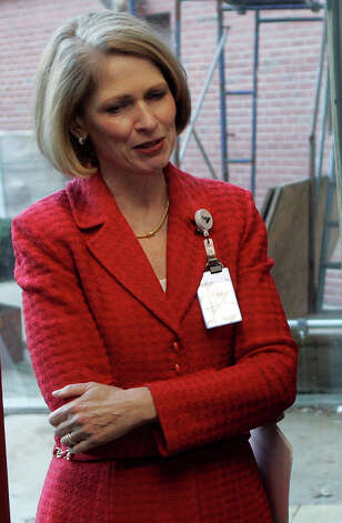 President and CEO of Yale-New Haven Hospital Marna Borgstrom Photo: BOB CHILD, AP Photo/Bob Child /  Associate Press
