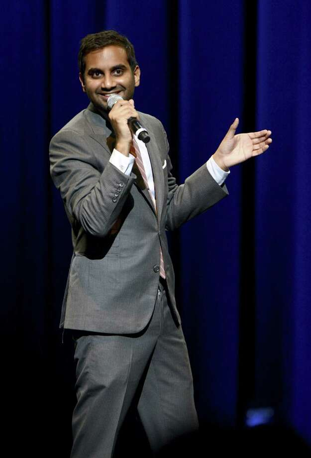 Comedian Aziz Ansari will perform Thursday at the Bayou Music Center in Houston. Photo: Michael Kovac / Getty Images
