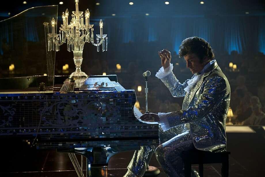 Michael Douglas inhabits the role of flamboyant showman Liberace in an illuminating portrait. Photo: Claudette Barius, HBO