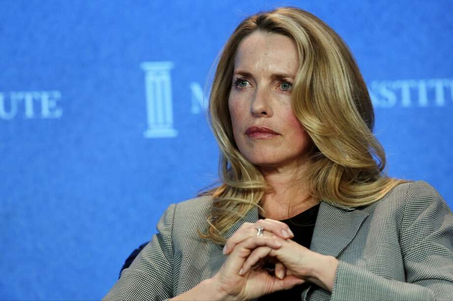 Laurene Powell Jobs, chairman of Emerson Collective and widow of Apple Inc. founder Steve Jobs, listens at the annual Milken Institute Global Conference in Beverly Hills, California, U.S., on Monday, April 29, 2013