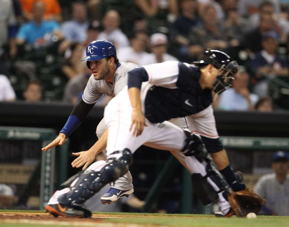 May 21: Royals 7, Astros 3  The bullpen blew Bud Norris' lead and the Astros dropped the second game of the series.  Record: 13-33. Photo: Karen Warren, Houston Chronicle