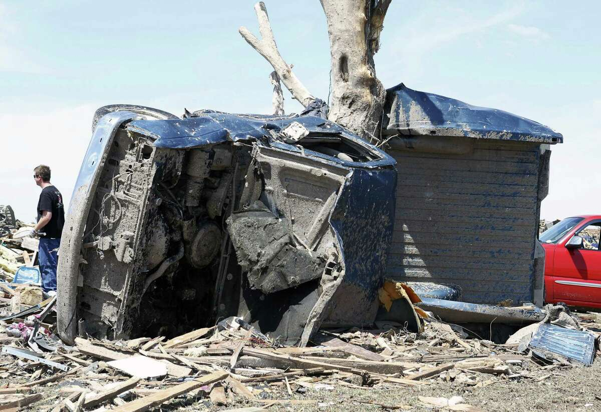 The Oklahoma Insurance Department said damage could top the $2 billion from the 2011 tornado that struck Joplin, Mo.
