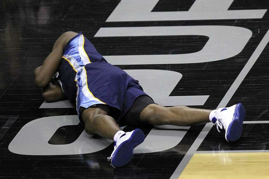 """Tony Allen's """"performance"""" in Game 2 turned some heads. Photo: Ronald Martinez / Getty Images"""