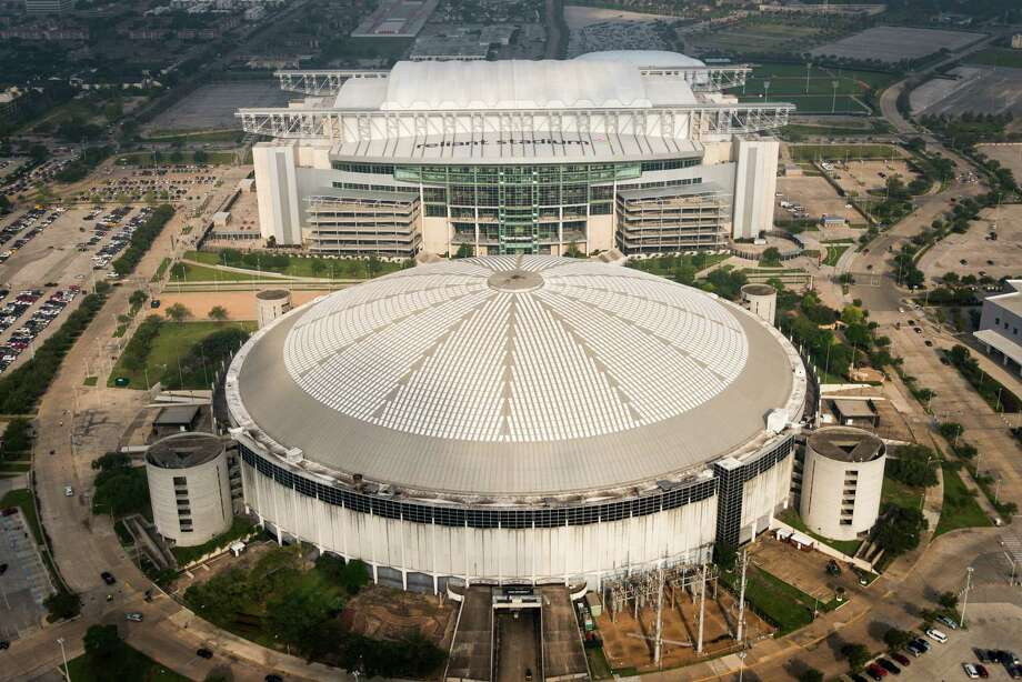 Reliant Stadium will host the Super Bowl in 2017, and a revamped Astrodome could be one of the attractions. Photo: Smiley N. Pool, Staff / © 2013  Houston Chronicle