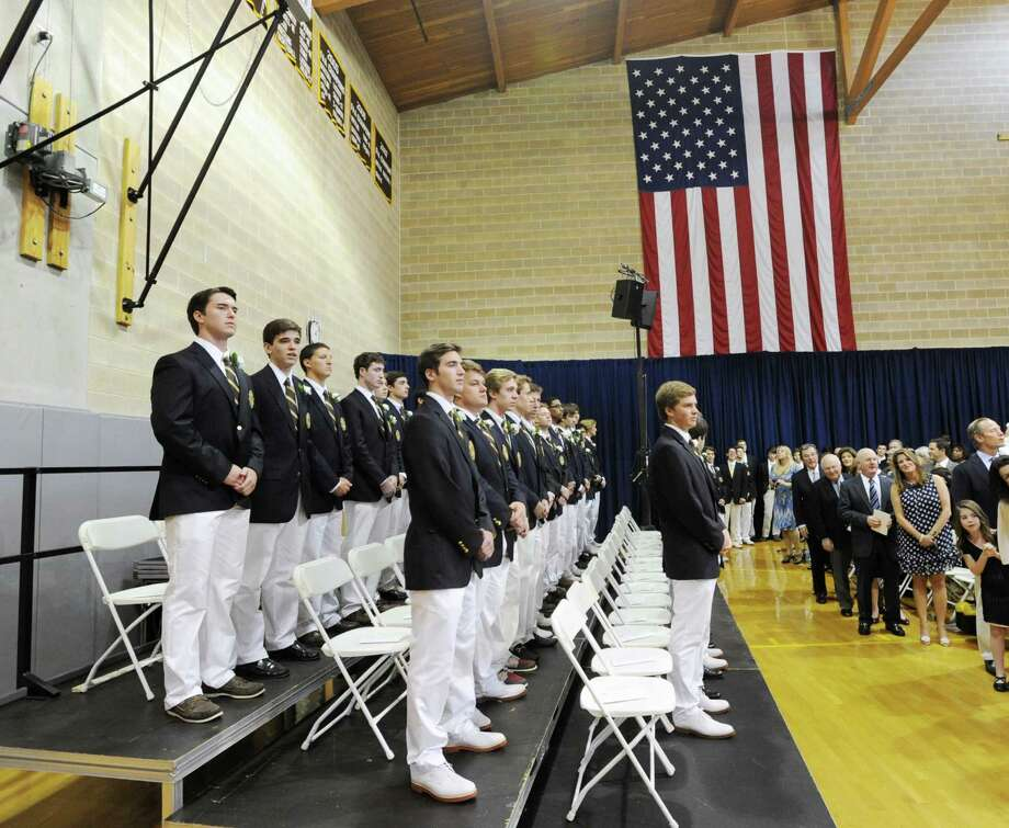 The Brunswick School Graduation at the school in Greenwich, Wednesday, May 22, 2013. Photo: Bob Luckey / Greenwich Time