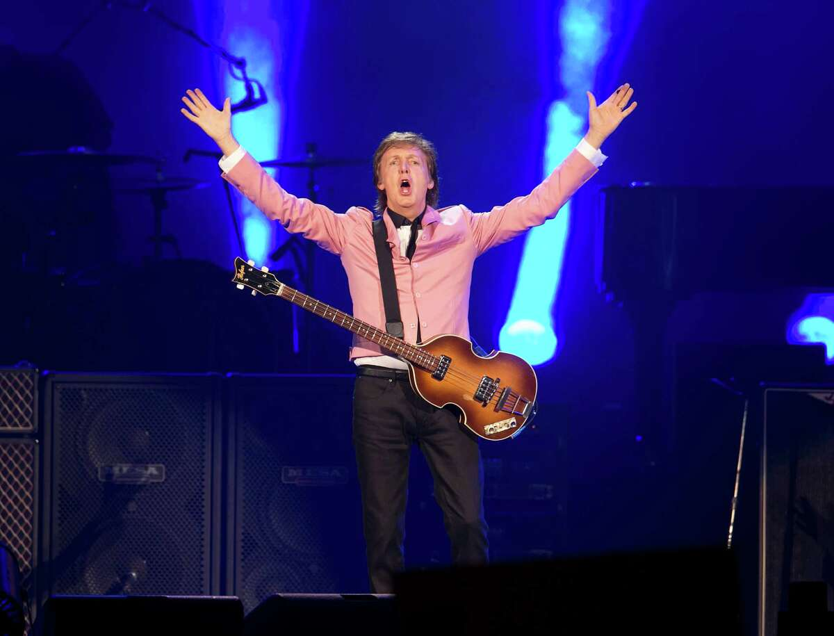 Paul McCartney performs at the Frank Erwin Center in Austin, Texas on Wednesday, May 22, 2013. DEBORAH CANNON / AMERICAN-STATESMAN
