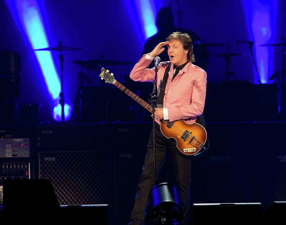 Paul McCartney performs at the Frank Erwin Center in Austin, Texas on Wednesday, May 22, 2013.  DEBORAH CANNON / AMERICAN-STATESMAN Photo: Deborah Cannon, American-Statesman / American-Statesman