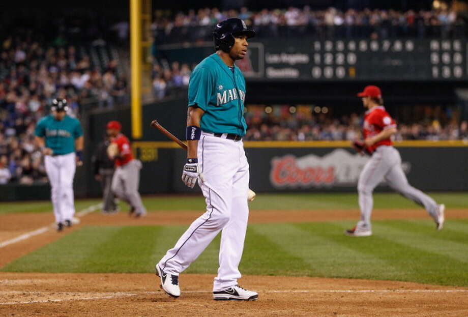 When the Mariners load the bases with no outs, then follow up with a strikeout and an inning-ending double play.  Photo: Otto Greule Jr, Getty Images / 2013 Getty Images