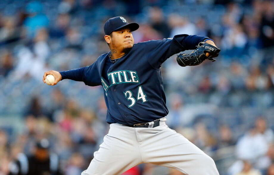 When Felix Hernandez is on the mound, but he gets no run support.  Photo: Jim McIsaac, Getty Images / 2013 Jim McIsaac