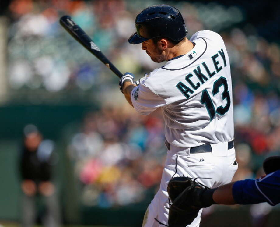 Young guys who were once promising prospects, like Dustin Ackley, have to be sent back down to the minors.  Photo: Otto Greule Jr, Getty Images / 2013 Otto Greule Jr