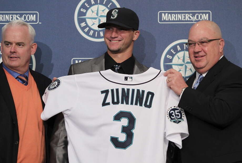 When the M's are forced to bring up prospects, like catcher Mike Zunino, before they're truly ready.  Photo: Otto Greule Jr, Getty Images / 2012 Getty Images