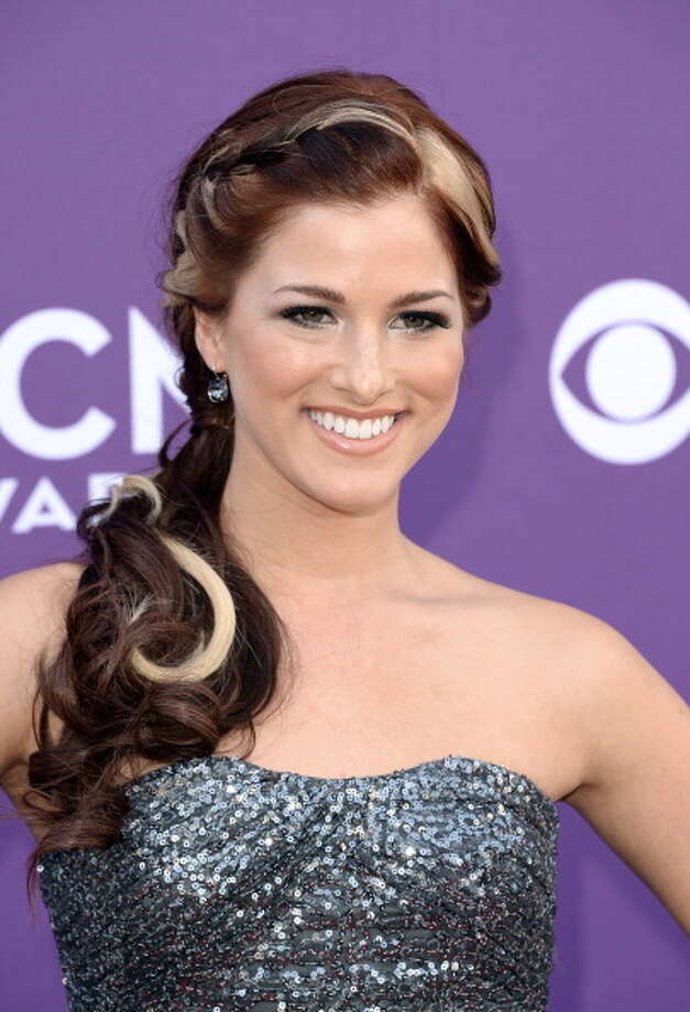 LAS VEGAS, NV - APRIL 07:  Musician Cassadee Pope arrives at the 48th Annual Academy of Country Music Awards at the MGM Grand Garden Arena on April 7, 2013 in Las Vegas, Nevada. Photo: Jason Merritt, Getty Images / 2013 Getty Images